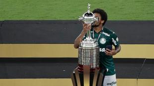 Palmeiras, campeón de la Copa Libertadores 2020. |