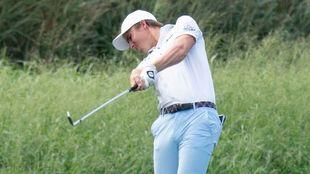 Carlos Ortiz lidera el PGA Farmers.