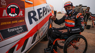 Isidre Esteve completó su primer Dakar con Toyota en la 28ª...