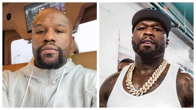Mayweather y 50 Cent.
