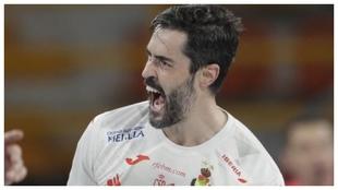 Raúl Entrerríos, capitán de la selección española de balonmano /
