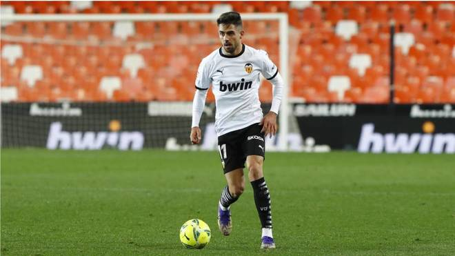 Rubén Sobrino durante un partido.