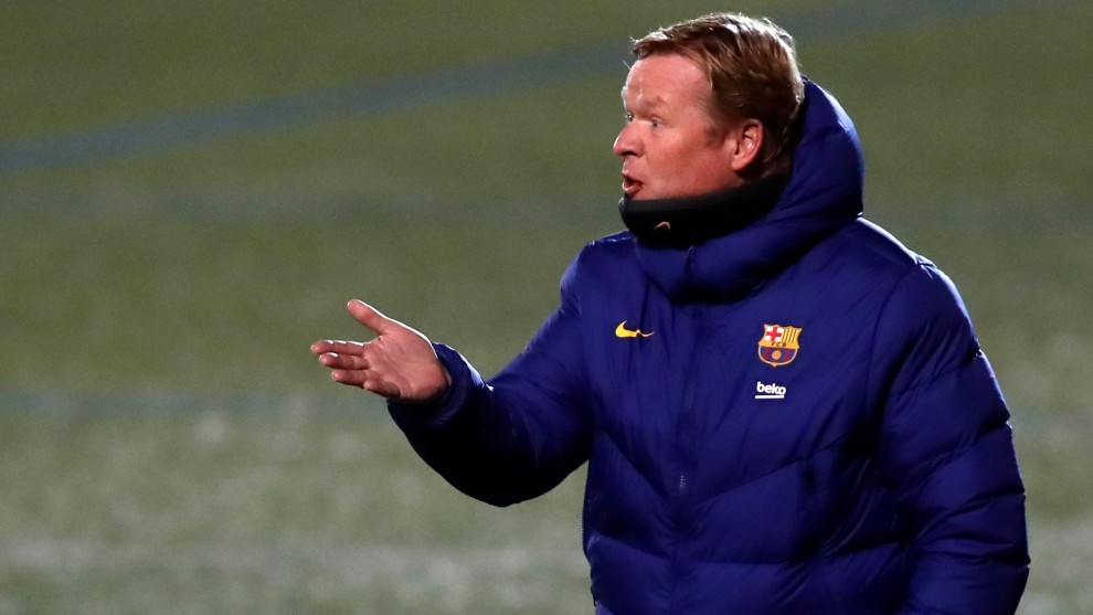 Koeman: Barcelona are confident of being able to beat PSG
