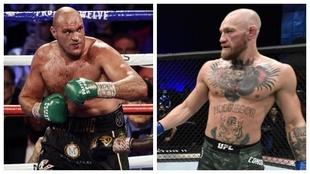 Tyson Fury y Conor McGregor.