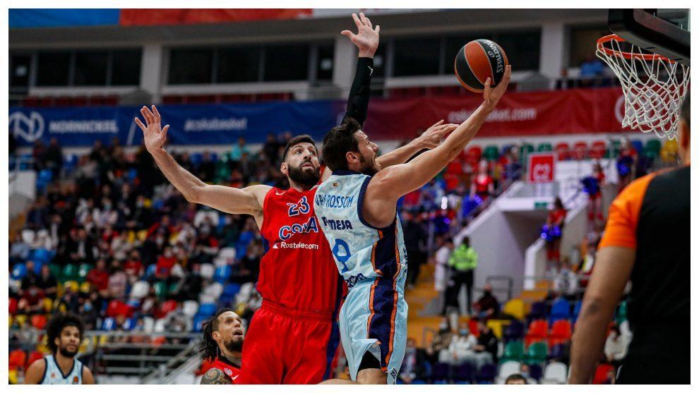 Valencia Basket - CSKA Moscu: Horario, TV y donde ver hoy el partido...