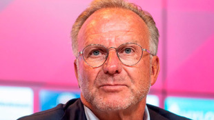 Karl-Heinz Rummenigge, presidente del Bayern de Múnich