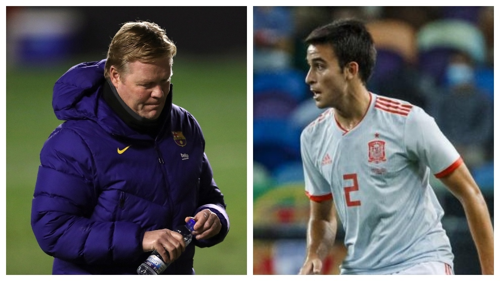 Eric Garcia stays in Manchester and Koeman remains without reinforcements