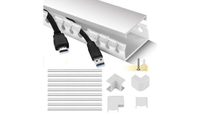 Cómo organizar los cables en casa: ¿es peligroso tener muchos detrás de la televisión o debajo del escritorio?