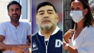 """Filtran nuevos e inquietantes audios sobre la muerte de Maradona: """"Tengo cagazo"""""""
