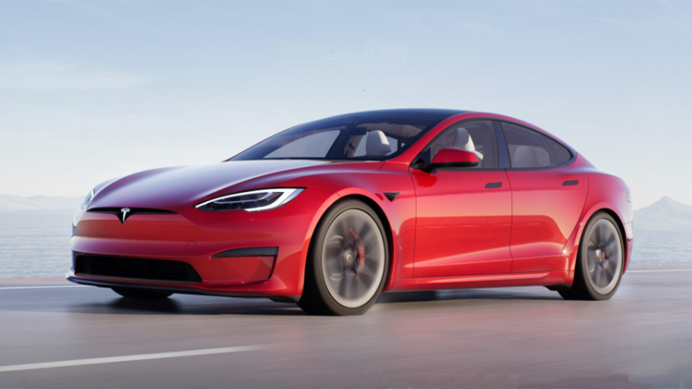 Así es el nuevo Tesla Model S Plaid.
