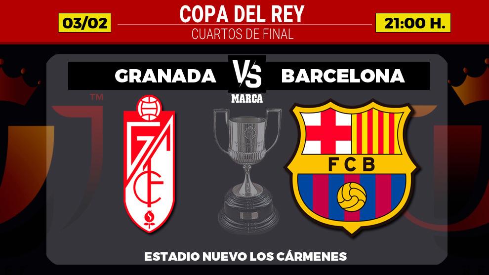 Granada vs Barcelona Full Match – Copa Del Rey 2020/21