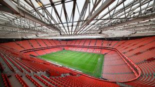 Imagen del nuevo estadio de San Mamés.
