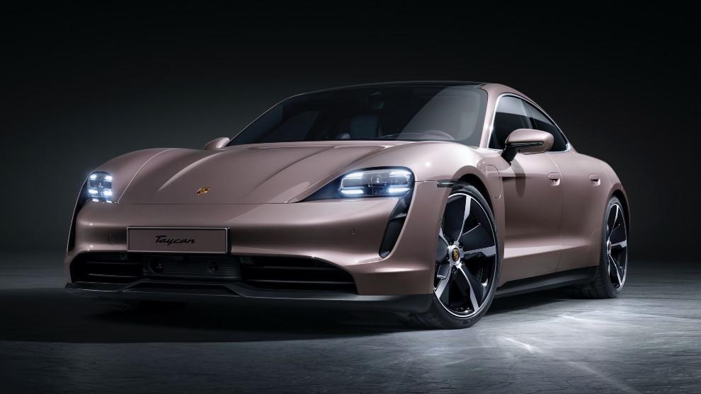 El Porsche Taycan es el primer eléctrico puro de la marca alemana.