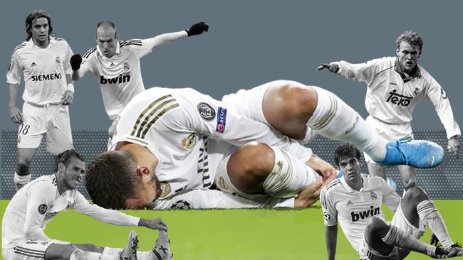 A Hazard se le pone cara del 'club de los malditos': Prosinecki, Woodgate, Kaká...