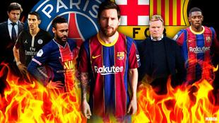 Barça - PSG: ¡Esto está que arde!