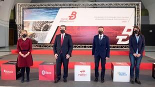 Presentación del Campeonato de Europa de Triatlón Multideporte 2022...
