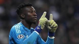 Andre Onana, portero del Ajax.