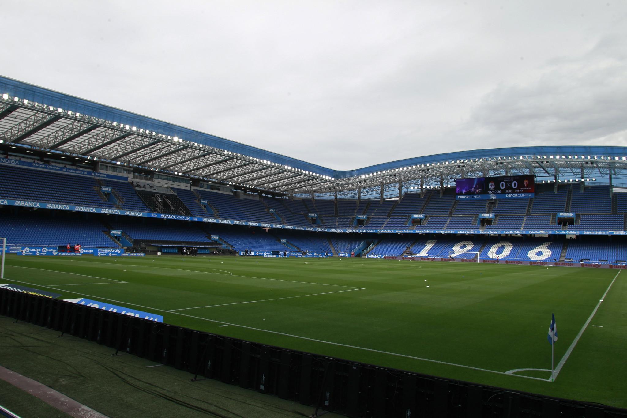 El estadio coruñés es uno de los símbolos del Depor.