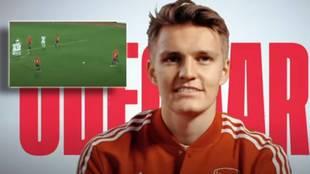 Odegaard elige el mejor gol de su toda su carrera: y seguro que no lo habías visto