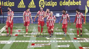 Las fechas del Atlético en una segunda vuelta con un objetivo