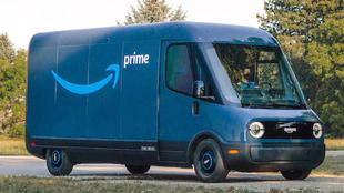 Amazon prueba su furgoneta eléctrica de Rivian en California