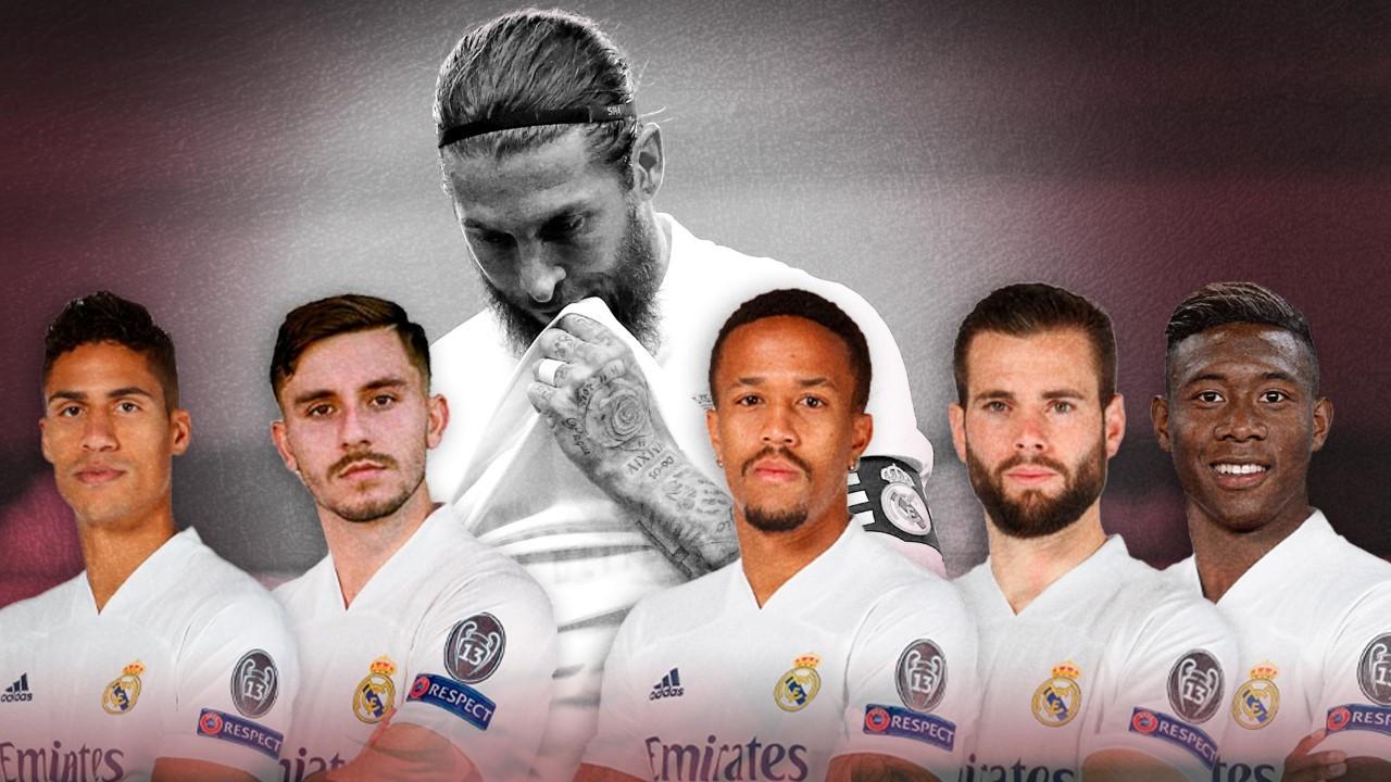 Ramos' setback leaves five proper names in Madrid: Varane, Militao, Nacho, Chust and Alaba