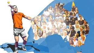 Rafa Nadal Novak Djokovic Open de Australia 2021