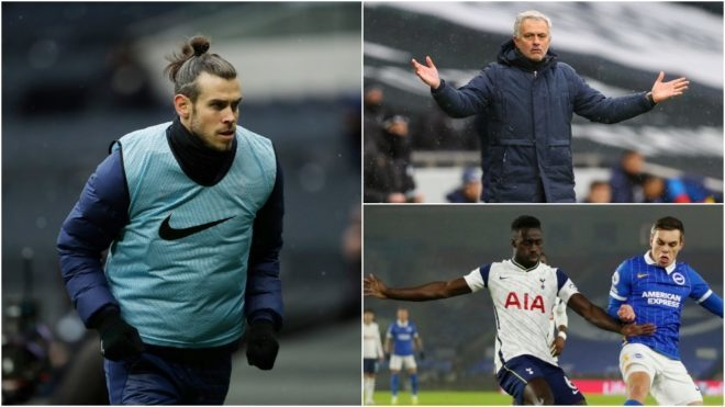 Bale's drama with Mourinho: Even Davinson Sanchez is playing more