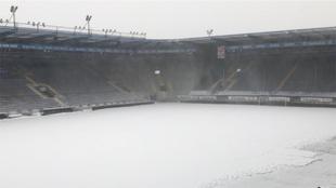 Arminia vs Werder Bremen, suspendido por nevada.