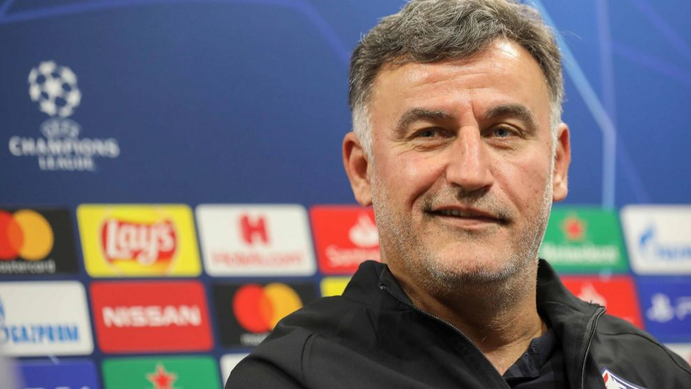 Galtier, técnico del Lille.