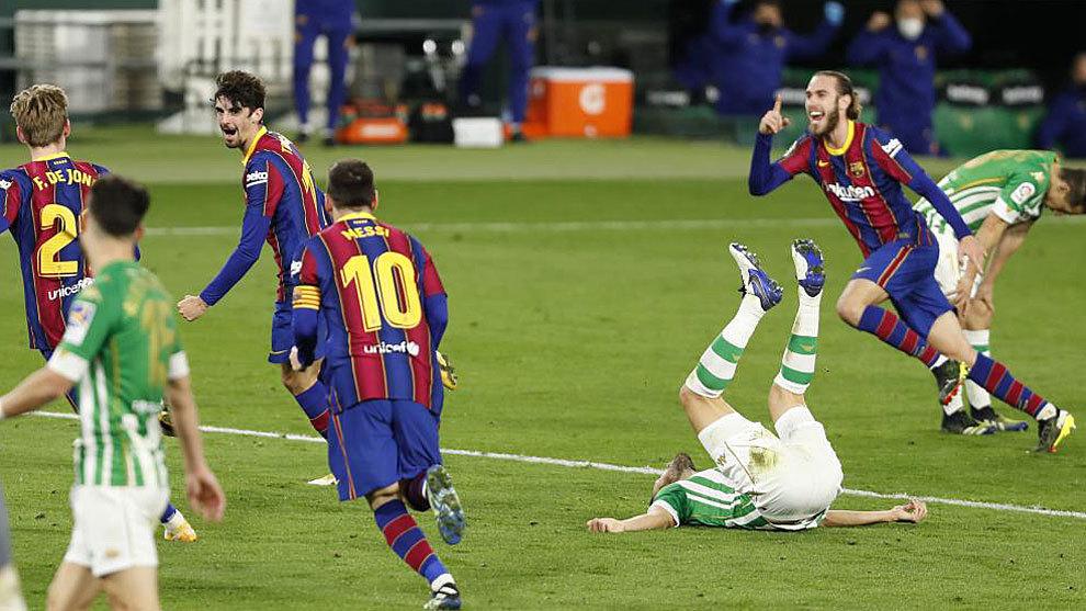 Al Barça le sobra fe