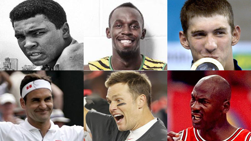 Some of the sporting greats