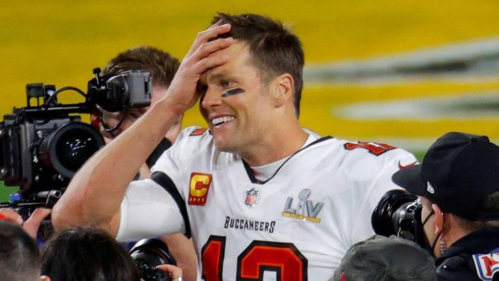 Tom Brady 43 años, quarterback en la NFL