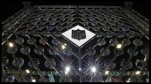Composición con los cascos de la NFL