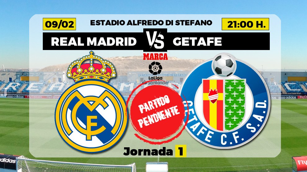 Real Madrid vs Getafe line-ups: Zidane changes formation and brings in Marvin