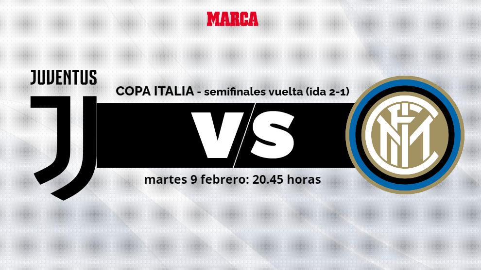 Juventus - Inter: Horario, canal y donde ver por TV la vuelta de las...