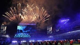 El espectáculo de la LV Super Bowl.