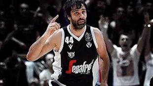 Milos Teodosic, jugador de la Virtus de Bolonia