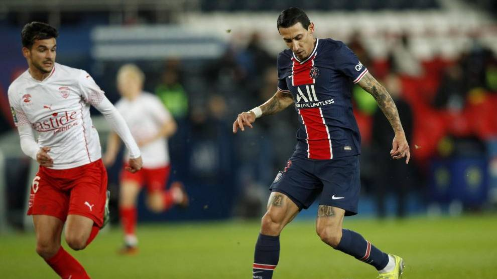 Angel Di Maria ruled out for first leg against Barcelona