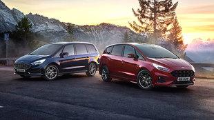 Ford Galaxy (izquierda) y S-Max (derecha) comparten motor y sistema...