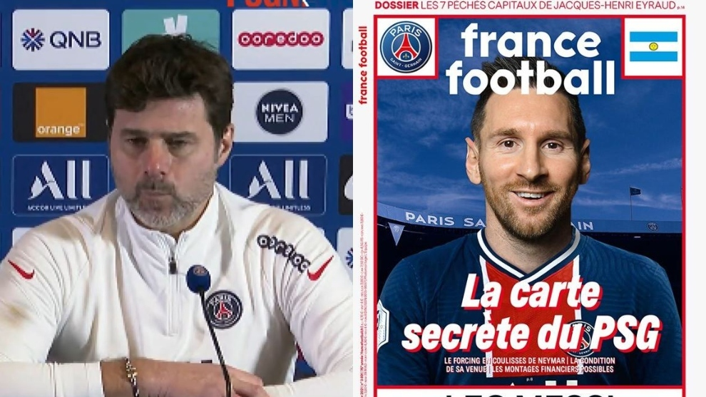 Pochettino on controversial Messi front cover: It wasn't PSG's doing