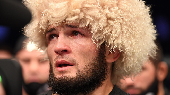 Khabib Nurmagomedov opens door to vacating lightweight title to Dustin Poirier
