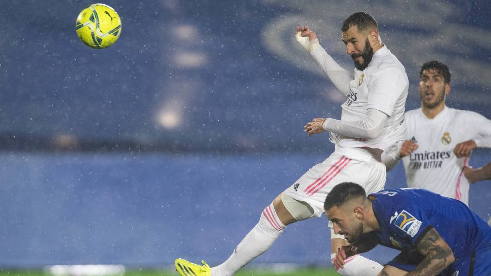 Reshuffled Real Madrid ease past Getafe