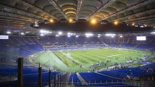 Estadio Olímpico de Roma.