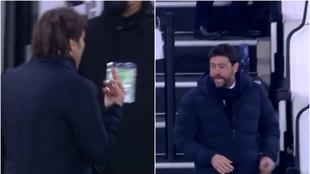 """La Juve se carga al Inter y Agnelli y Conte ajustan cuentas: """"Habla ahora, gilipo****"""""""