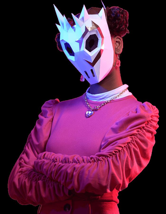 Máscara de Lovethorn de Fortnite