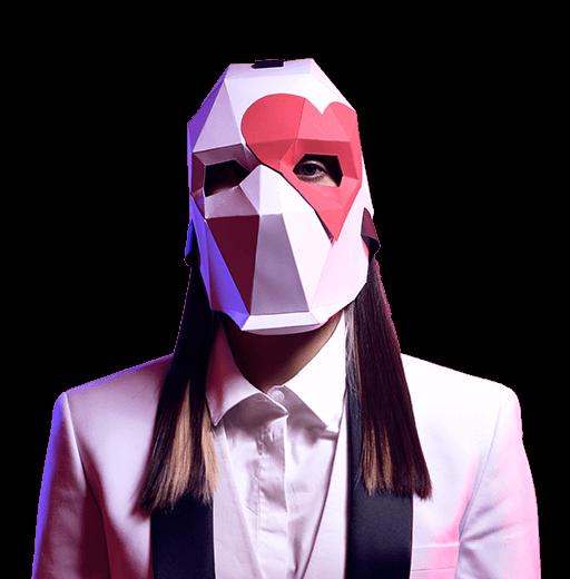 Máscara de Comodín de Fortnite