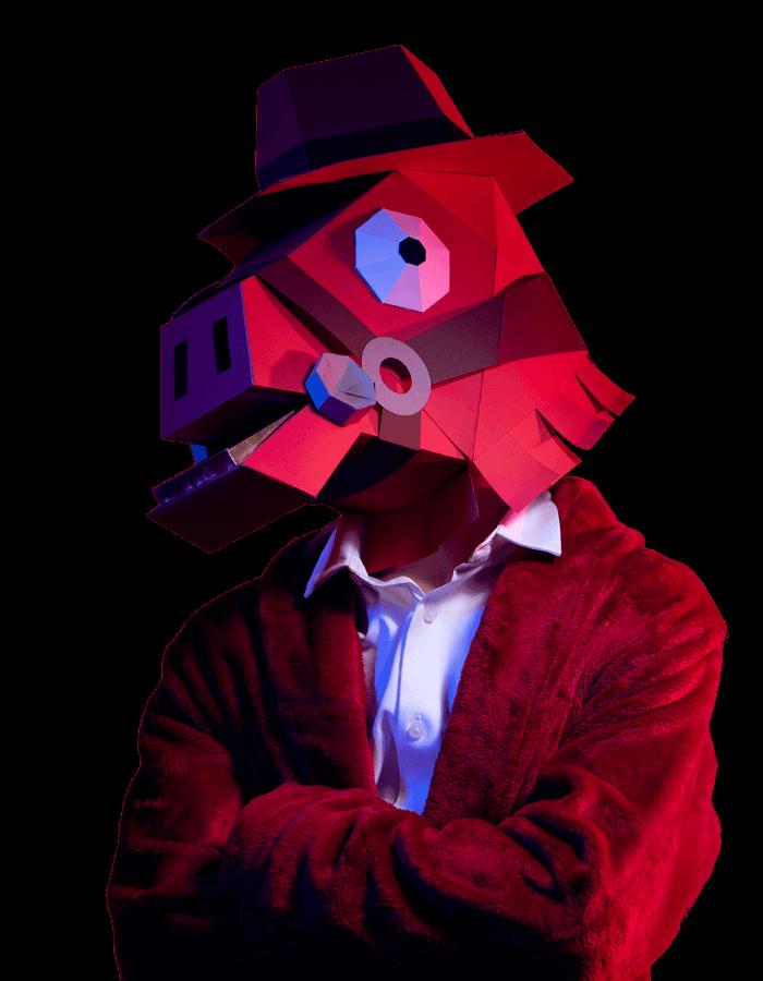 Máscara Rompecorazones de Fortnite