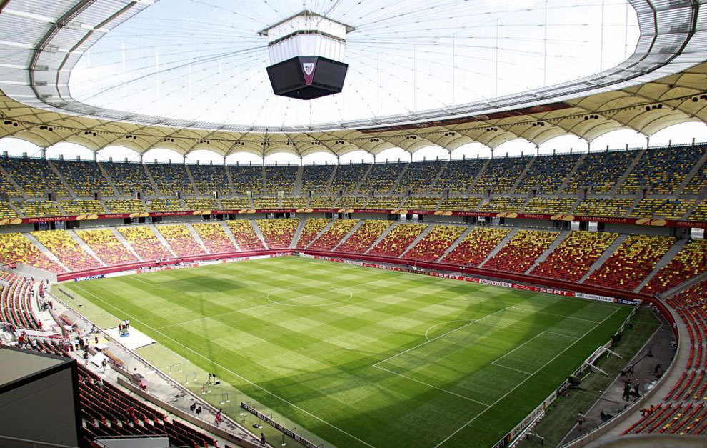 The National Arena in Bucharest