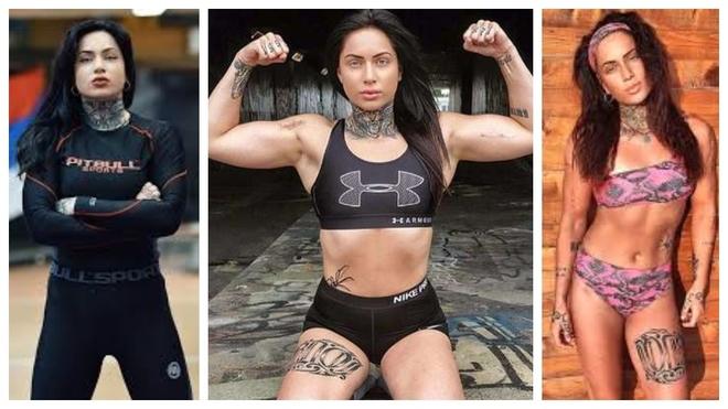 Julija Pajic, luchadora de MMA.
